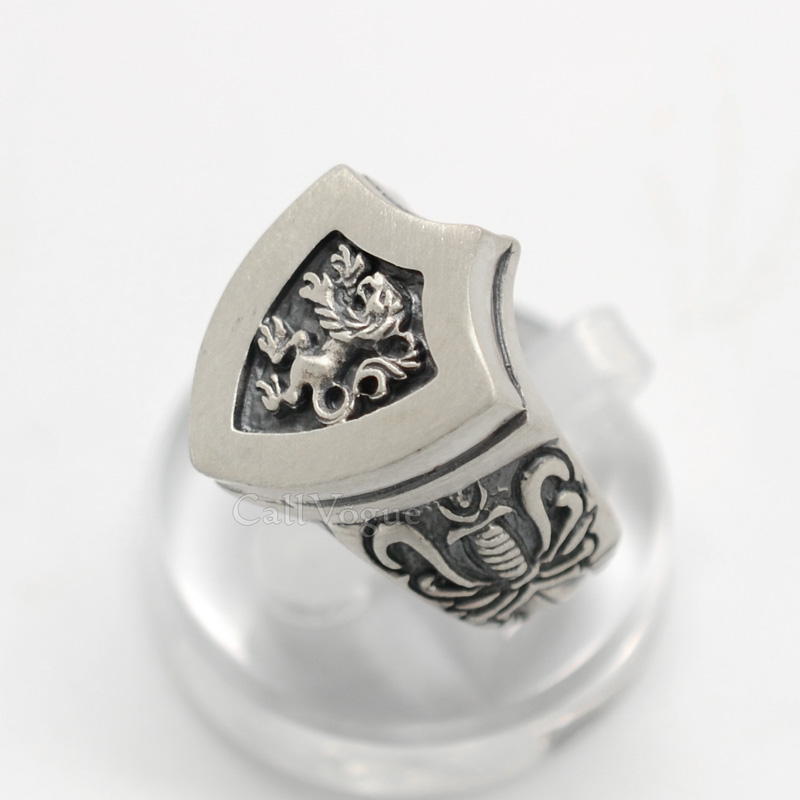 mens rings by sterling silver mr04 king