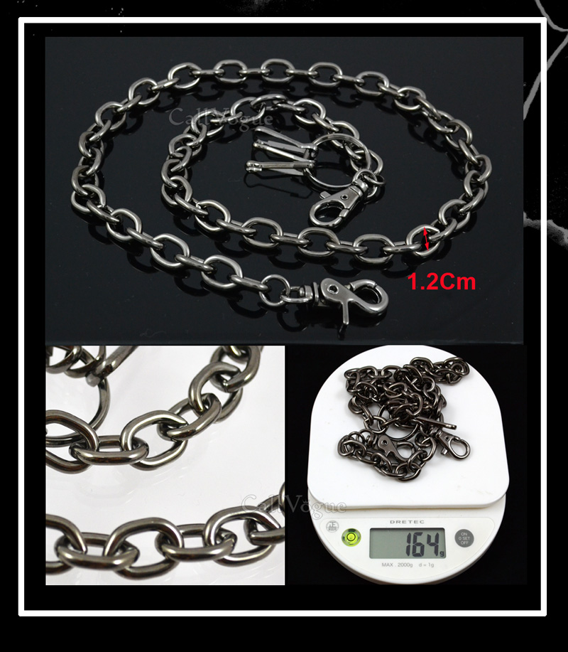 Wallet chain for Men women CH03B Basic Ring Leash Linked wallet chains DE