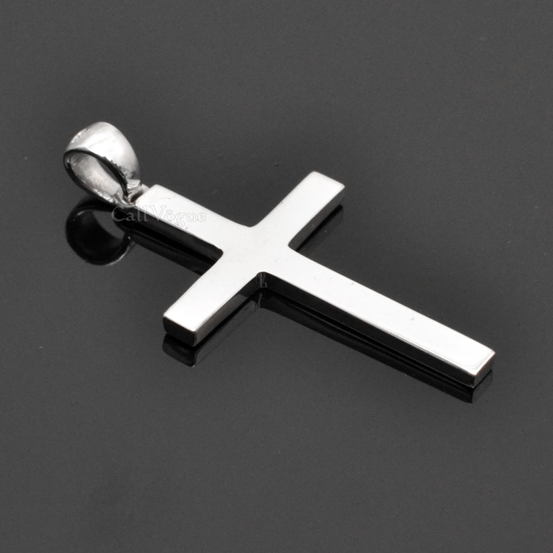 Sterling silver charms Pendant 925P-Cross cross necklaces silver charms DE