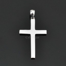 Sterling silver charms Pendant 925P-Cross cross necklaces silver charms M