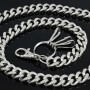Cut Leash Wallet Chain CH07HS HEAVY THICK metal cuban curb Wallet Chains M