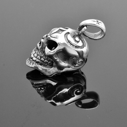 Sterling silver skull charms pendant movable mouth callvogue sterling silver skull charms pendant movable mouth aloadofball Image collections