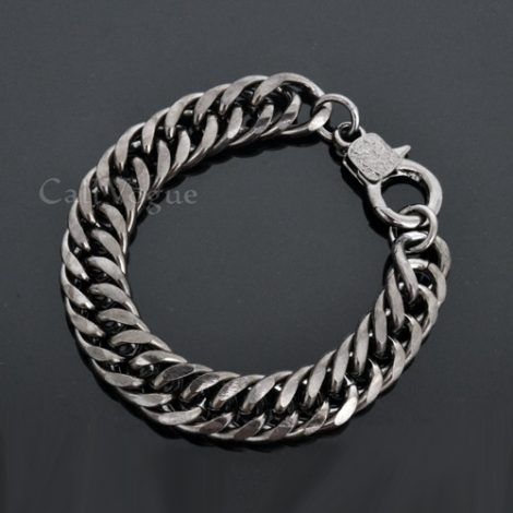 Chain bracelets BCH01B HEAVY THICK CURB CUBAN LINKS CHAIN BRACELET M