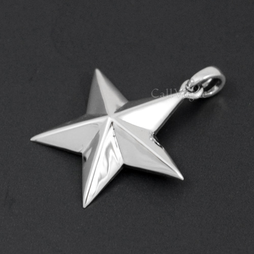 Star pendant sterling silver callvogue star pendant sterling silver mozeypictures Image collections