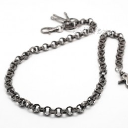 wallet chains Round Ring wallet chain multi ring biker chain M1