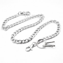 Wallet chains for Men women Metal Leash Linked wallet chain