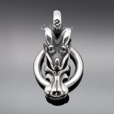 dragon jewelry Dragon Pendant 925 sterling silver pendants for mens necklaces