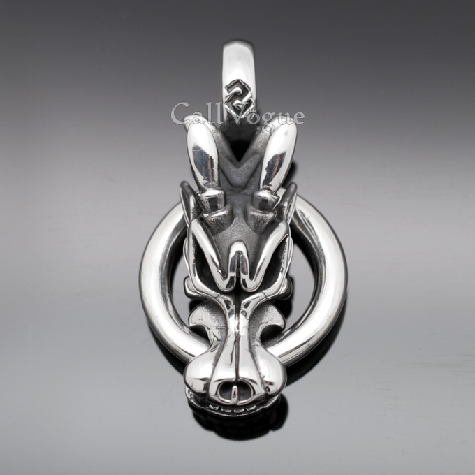 925 sterling silver dragon pendant for mens necklaces callvogue 925 sterling silver dragon pendant for mens necklaces aloadofball Choice Image